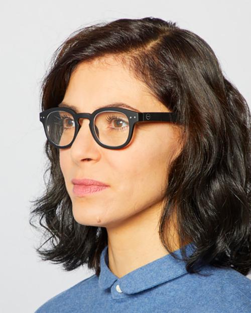 fashion reading glasses frame C black by izipizi