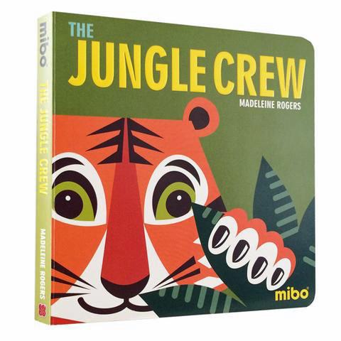 Mibo board book the jungle crew