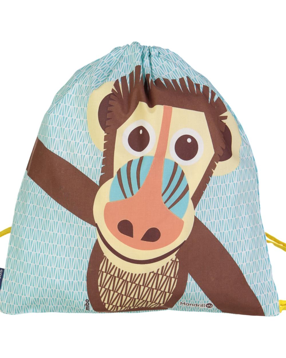 drawstring bag mandrill by coq en pate