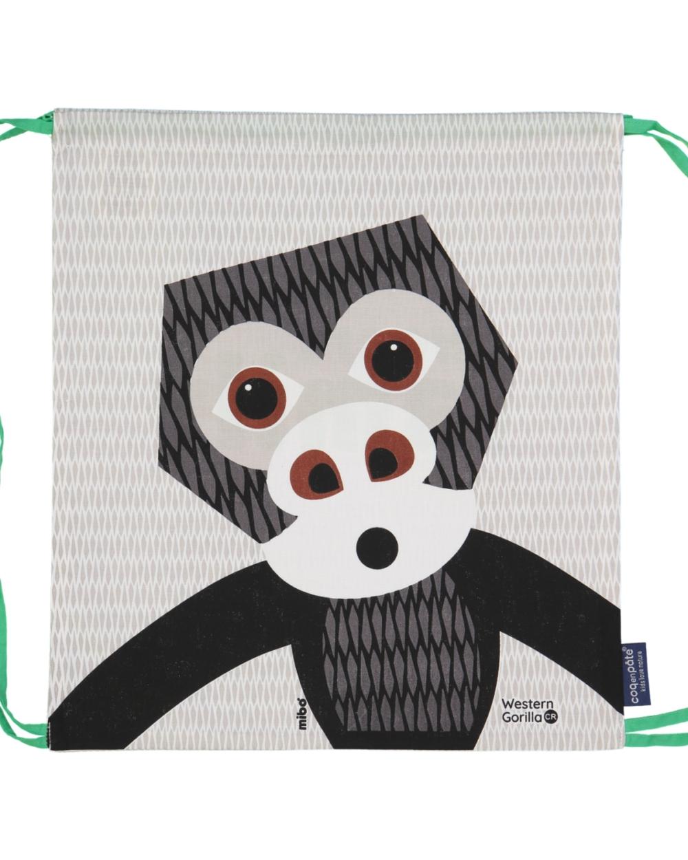 drawstring bag gorilla cy coq en pate