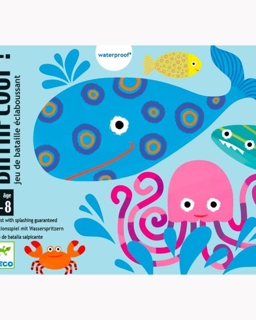 bataplouf waterproof card game by djeco