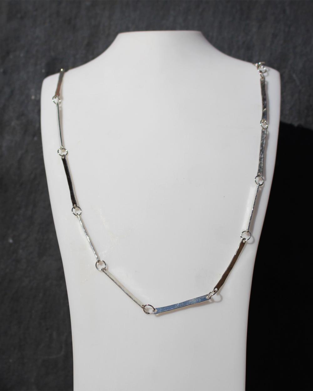 MSJ22 bar necklace by MAdeleine Spencer Jewellery