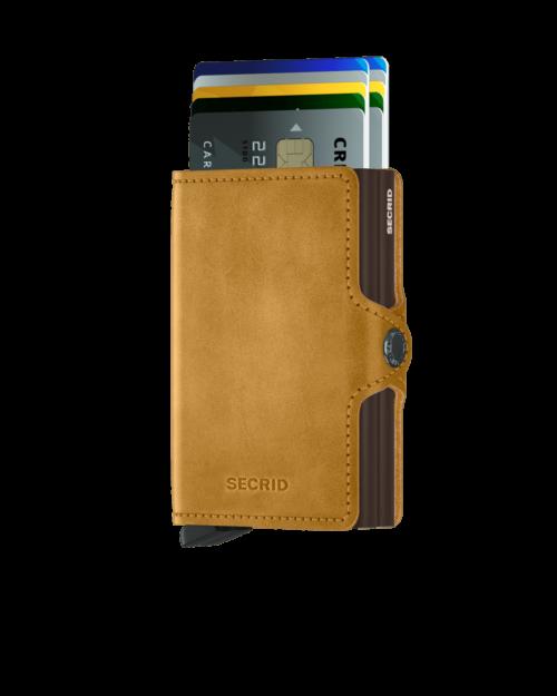 secrid twin wallet vintage ochre