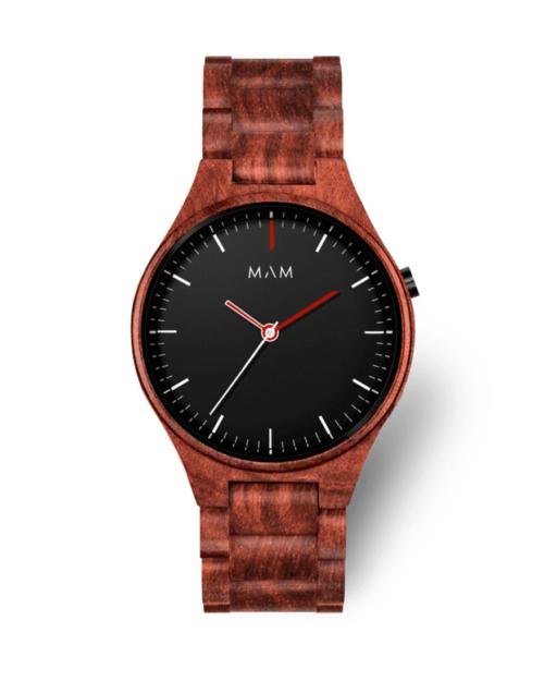 Wooden watch volcano 697 by MAM
