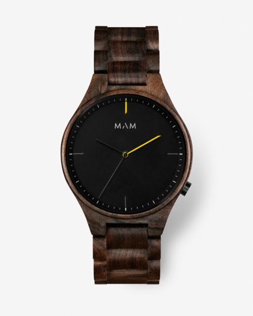 MAM volcano 611 wooden watch