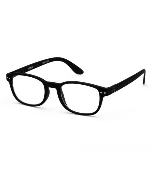 black reading glasses frame b by izipizi