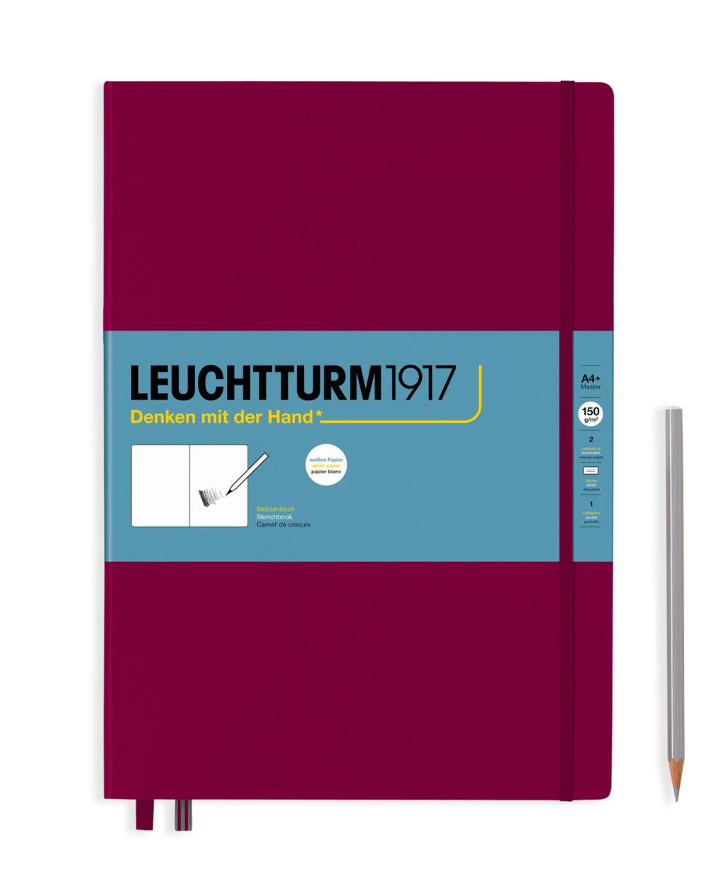 master sketchbook port red by Leuchtturm1917